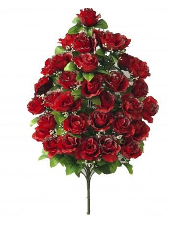 909 Букет Роза Серебро 36 голов